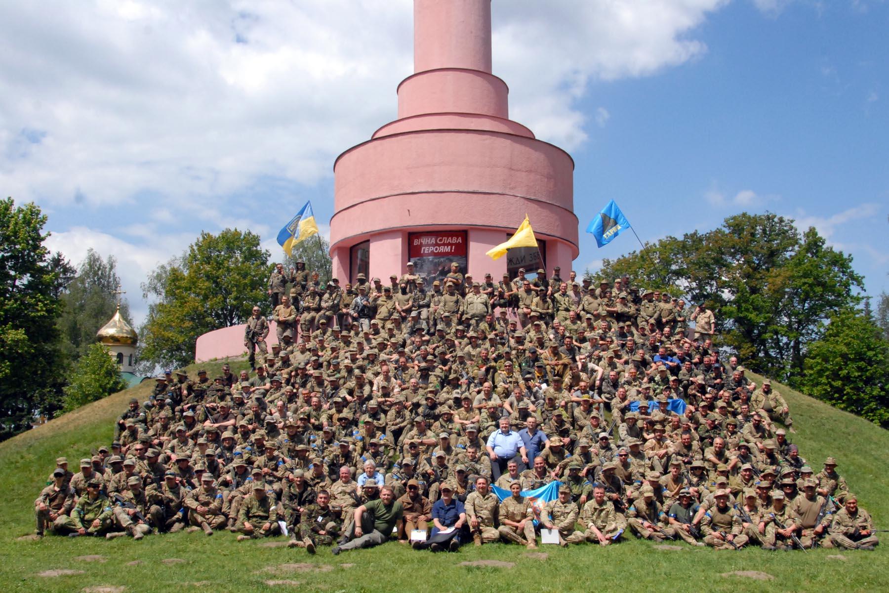 навчання територіальної оборони
