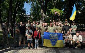 Український легіон на День Незалежності