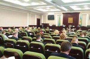 нарада у Київській облраді